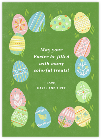 Bunny Feeling - Paperless Post - Easter Cards