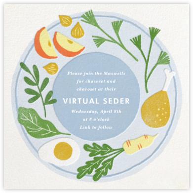 Seder Spread - Paperless Post - Passover invitations