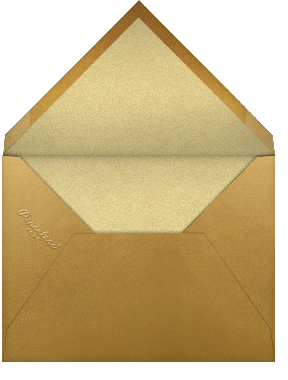 Scrapbooked - Paperless Post - Graduation - envelope back