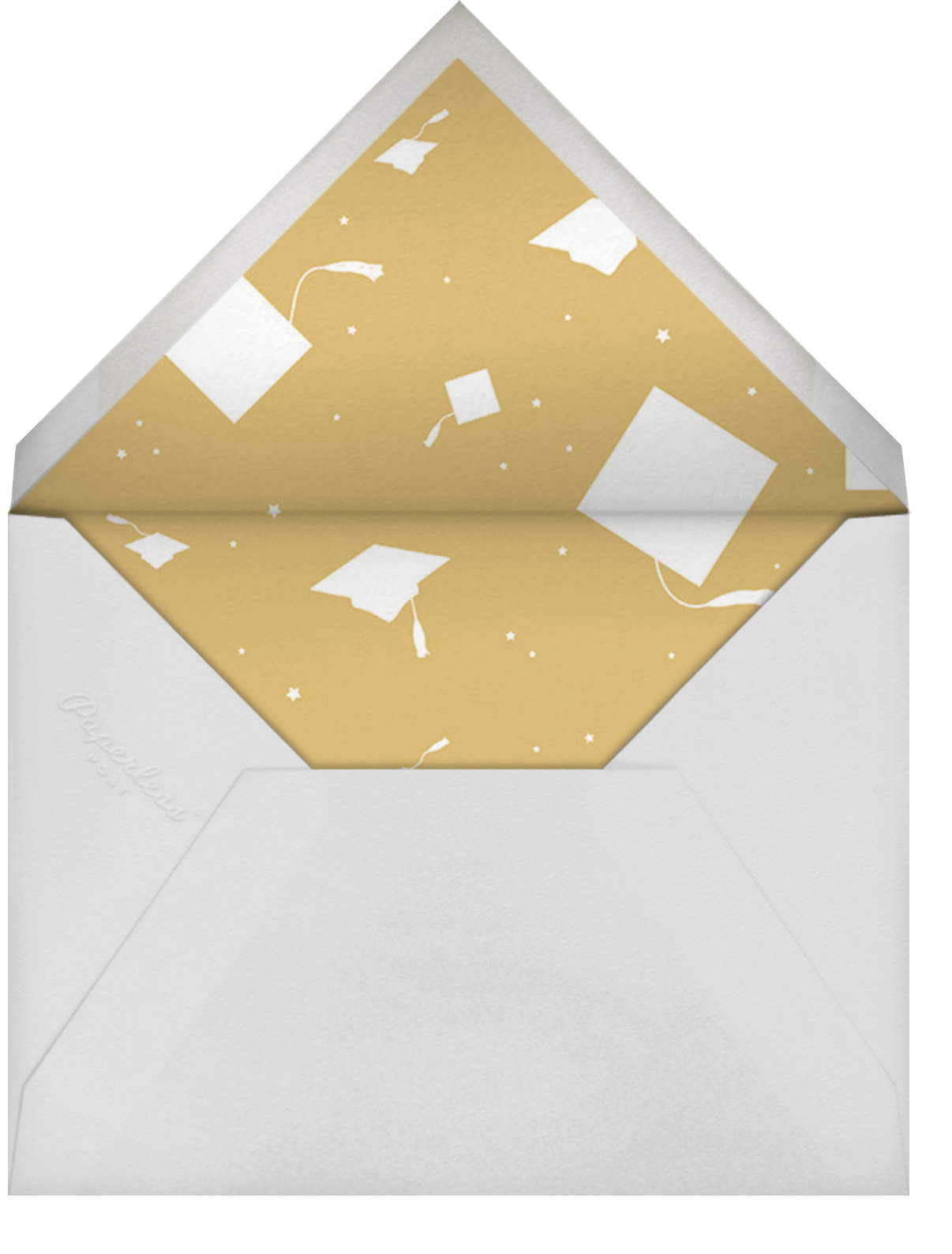 Most Likely To - This - Paperless Post - Graduation - envelope back
