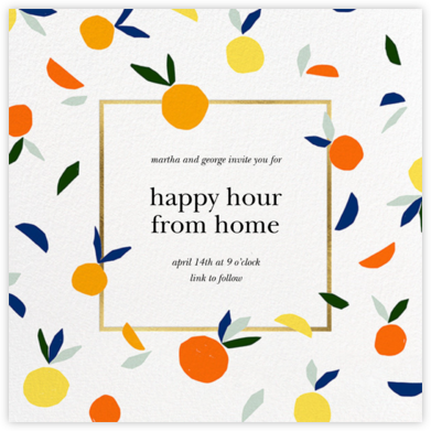 Citrus Twist - kate spade new york - Virtual Parties