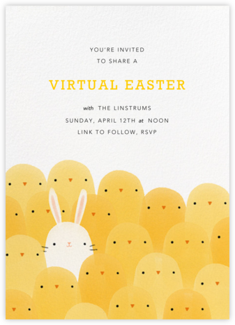 Not Like the Others (Invitation) - Paperless Post - Virtual Parties