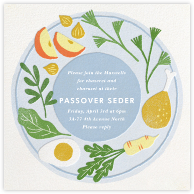 Seder Spread   square