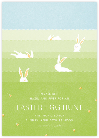 Catch Me If You Can - Paperless Post - Easter Invitations