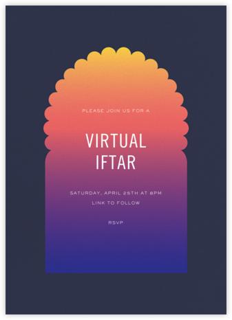 Iftar (Invitation) - Paperless Post - Virtual Parties