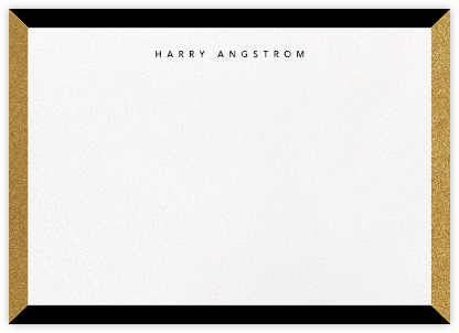 Cube - Black - Paperless Post - Personalized Stationery