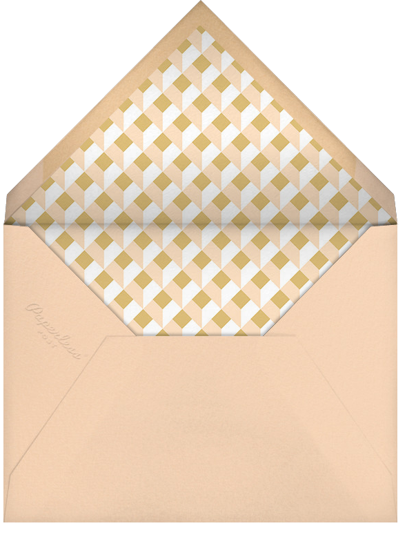 Cube - Bellini - Paperless Post - Personalized stationery - envelope back