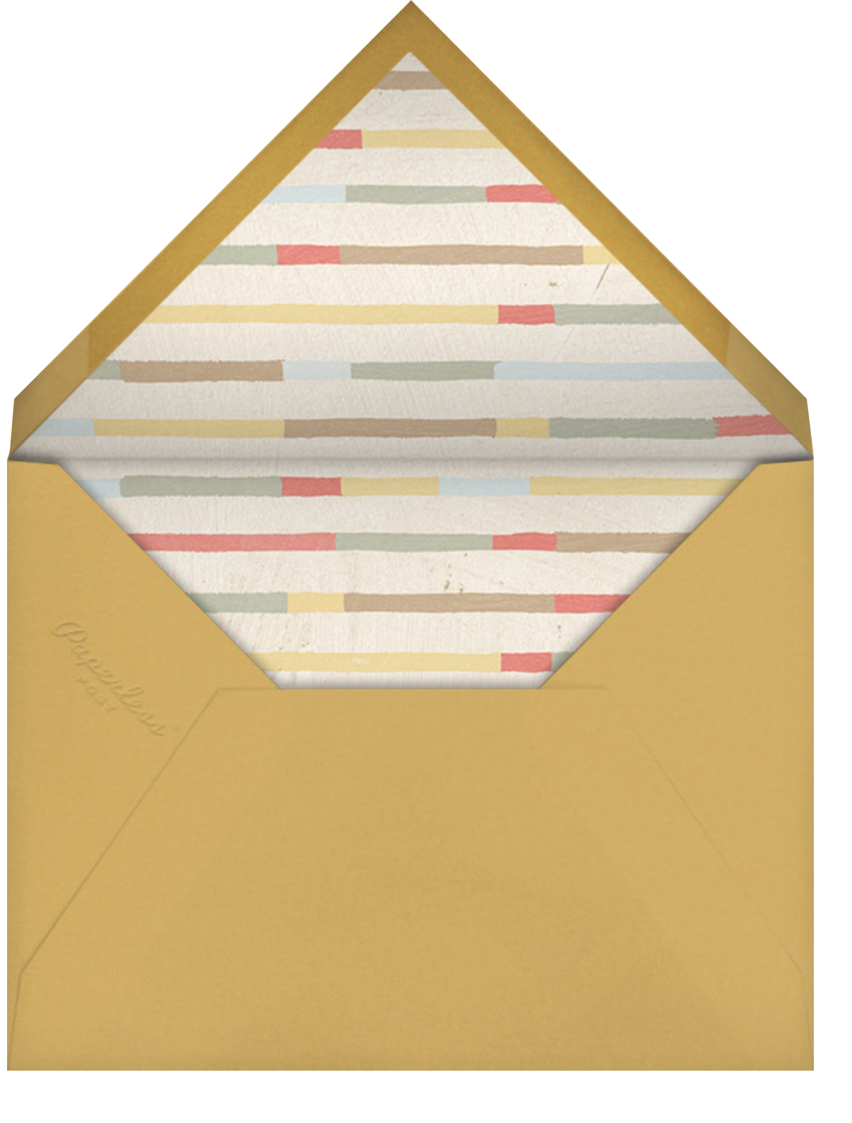 Snailed It - Paperless Post - Thinking of you - envelope back