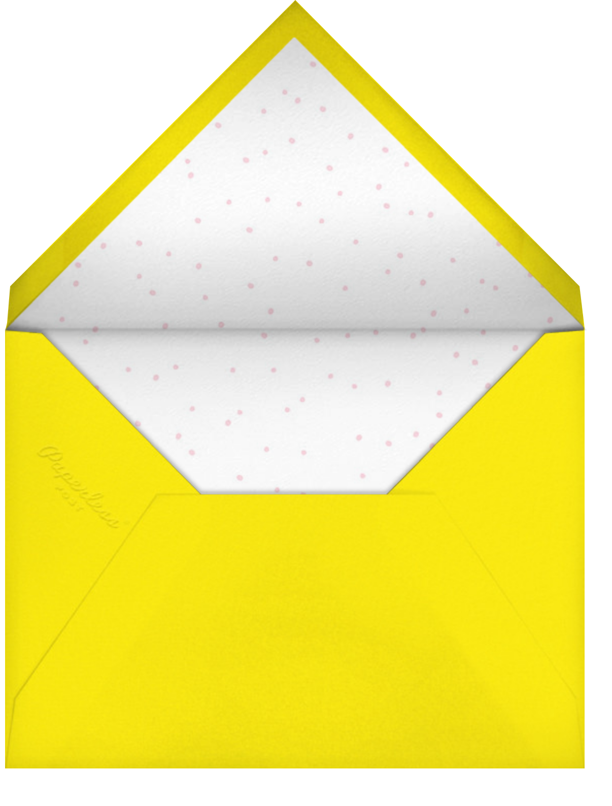 Hang Loose - Hello!Lucky - Virtual parties - envelope back