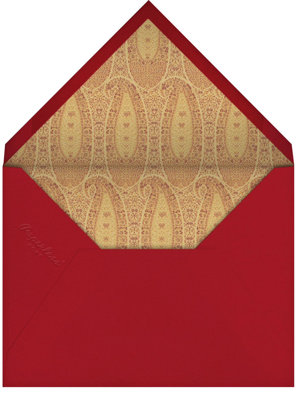 Boho - Schumacher - General entertaining - envelope back
