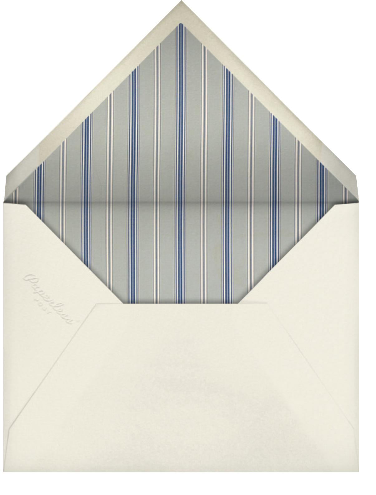 Ladylike - Schumacher - Bridal shower - envelope back