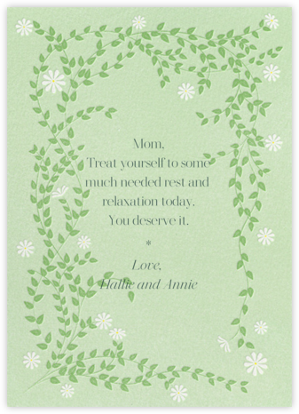 Sprawling Daisies - Paperless Post - Mother's Day Cards