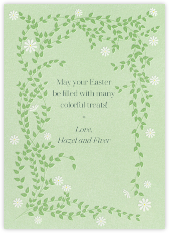Sprawling Daisies - Paperless Post - Easter Cards
