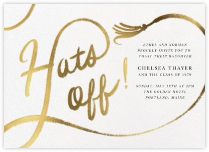 Tassel Script - Paperless Post - Celebration invitations