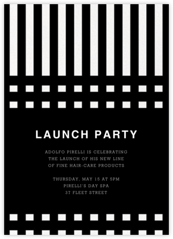 Tiet - Marimekko - Launch Party Invitations