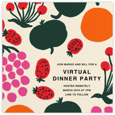 Maijalsola - Marimekko - Dinner Party Invitations