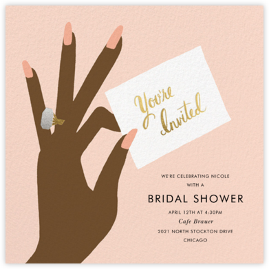 You're Invited Ring - Sherbet - Rifle Paper Co. - Rifle Paper Co. Wedding