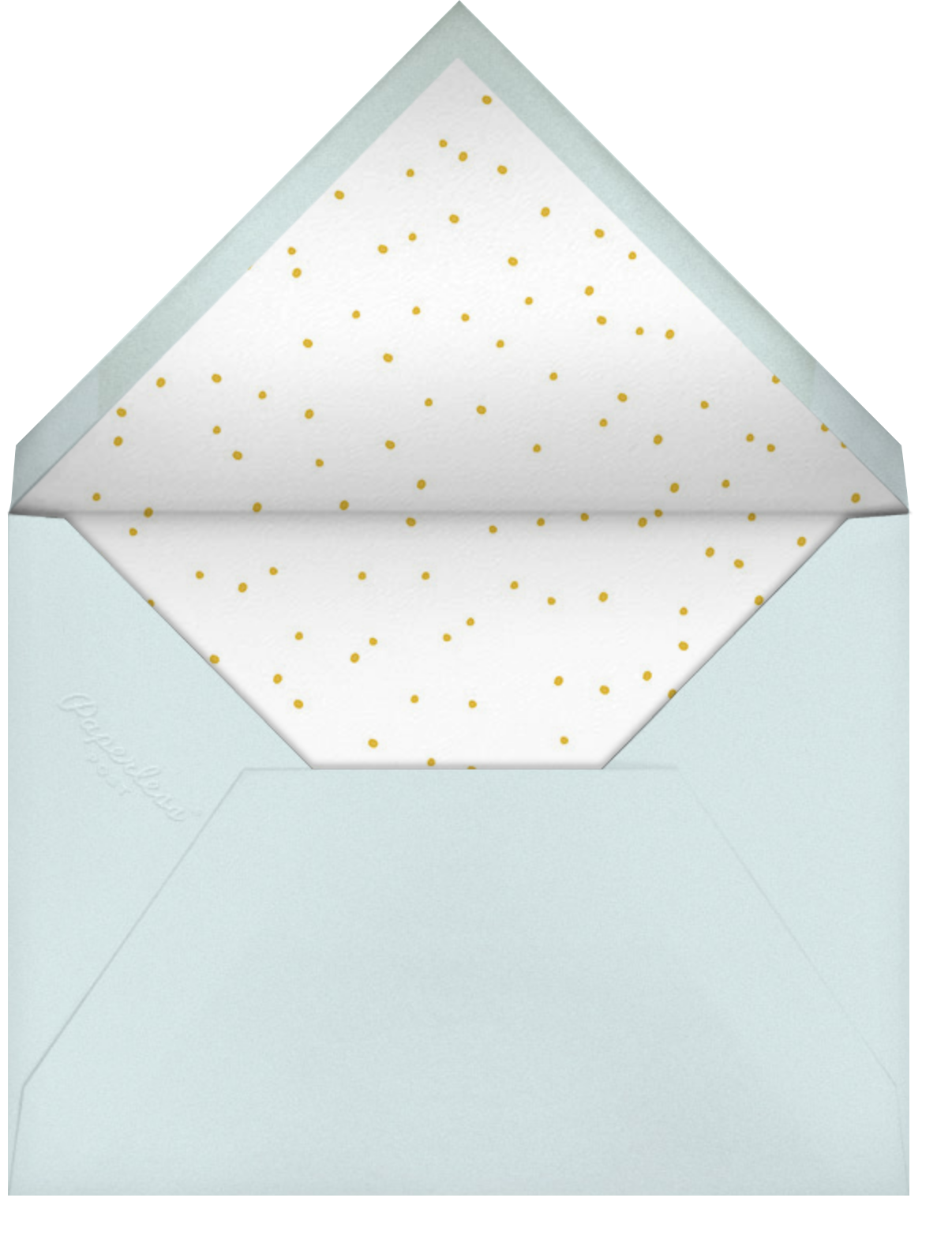 Shared Space - Little Cube - Thinking of you - envelope back