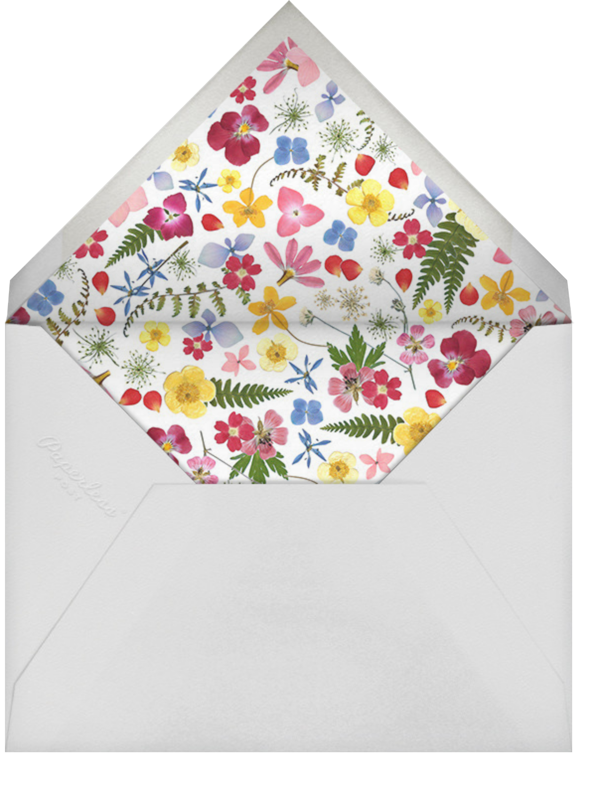 Love Is in Bloom - Paperless Post - Wedding party requests - envelope back
