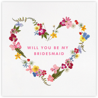Love Is in Bloom - Paperless Post - Will You Be My Bridesmaid Cards