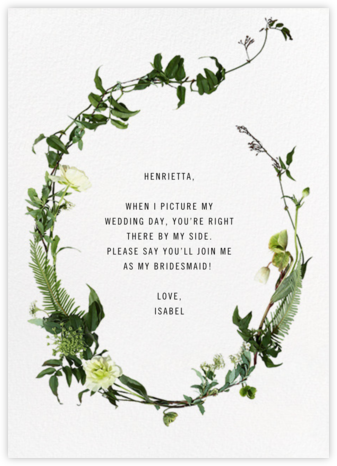 Chincoteague - Paperless Post - Will You Be My Bridesmaid Cards