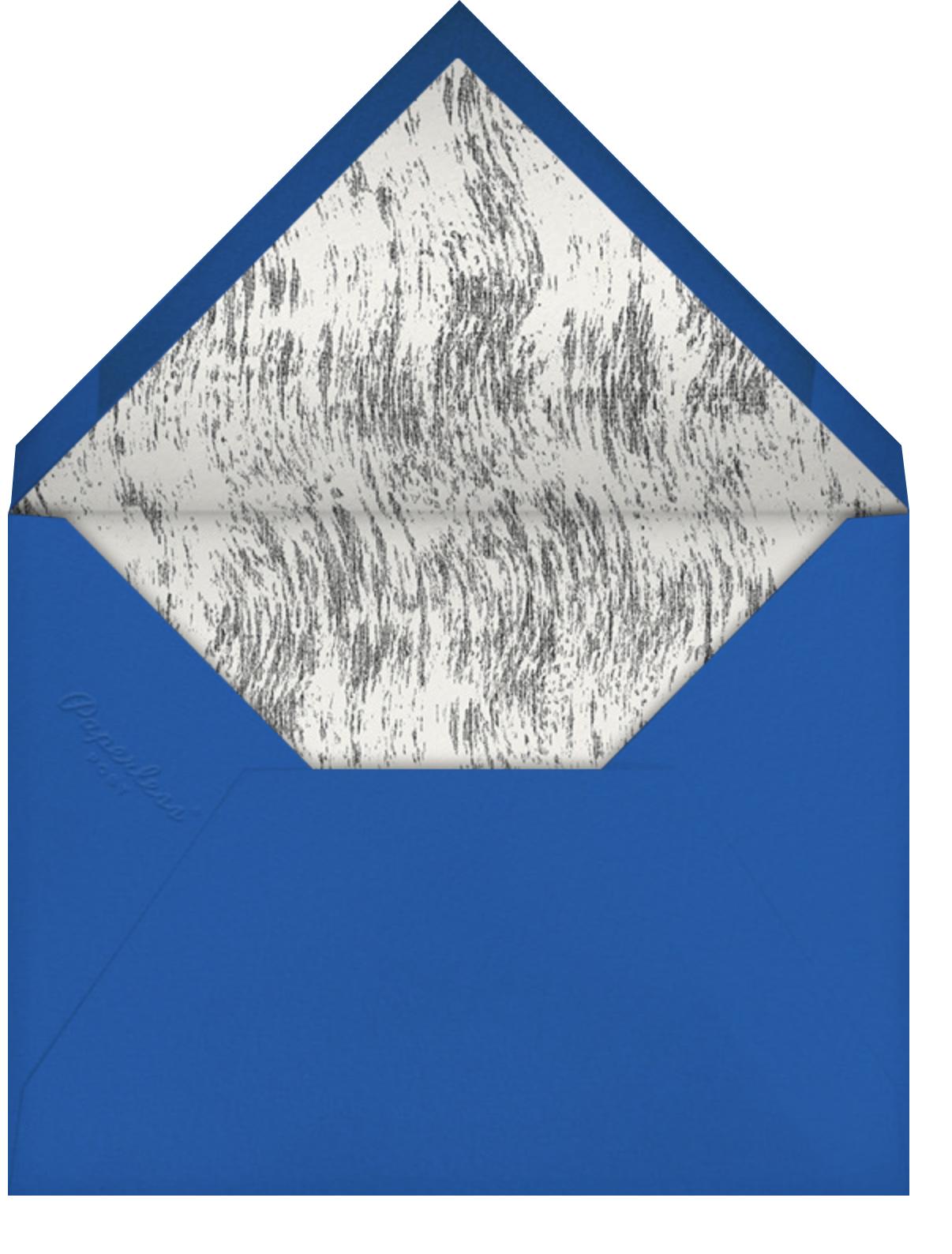 Laidback Living - Schumacher - Reception - envelope back
