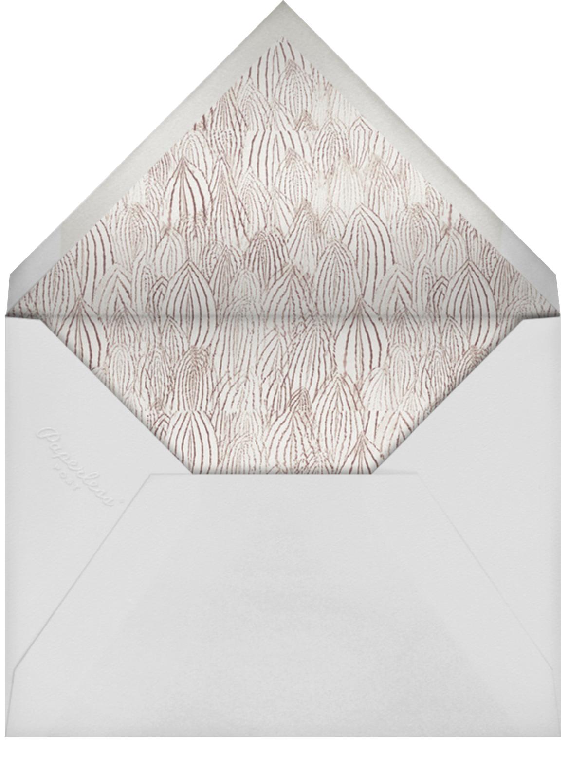 Chic Minimalism - Schumacher - Casual entertaining - envelope back