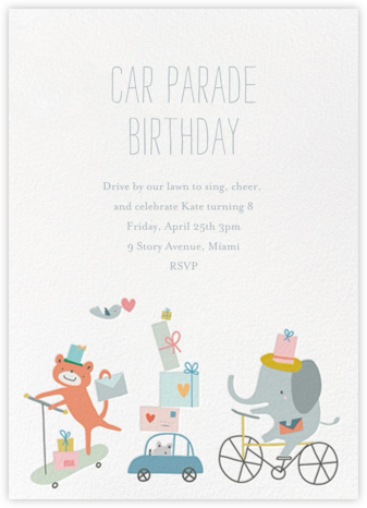 Presents Parade - Little Cube - Trains, planes, and cars
