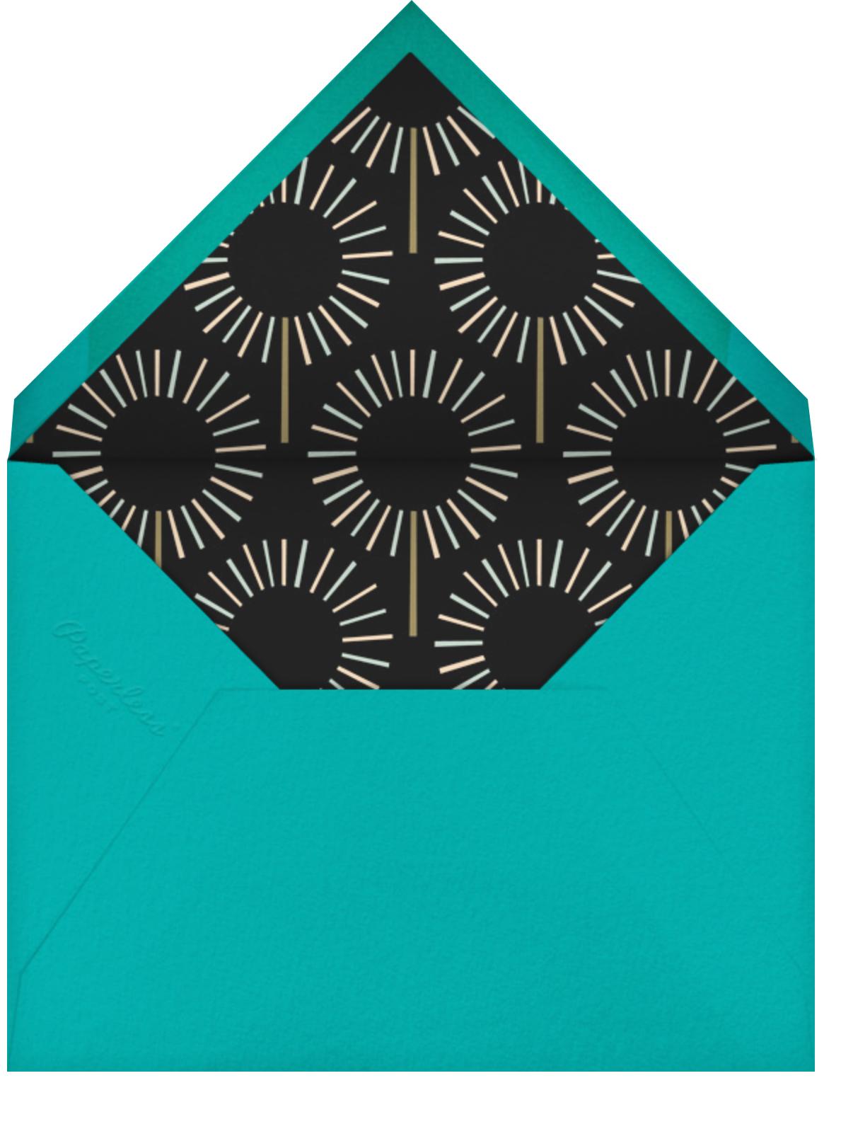 Year of the Sparkler - Gold/White - Paperless Post - Kids' birthday - envelope back