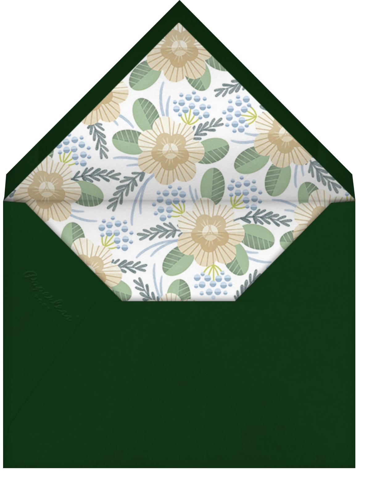 Palm Sunday - Paperless Post - Easter - envelope back
