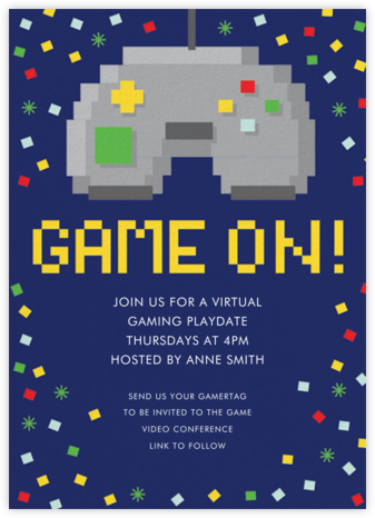 Remote Controllers - Hello!Lucky - Online Party Invitations