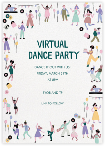 Digital Dance - Hello!Lucky - General Entertaining Invitations