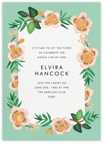 Marguerite Floral - Rifle Paper Co. - Bachelorette party invitations