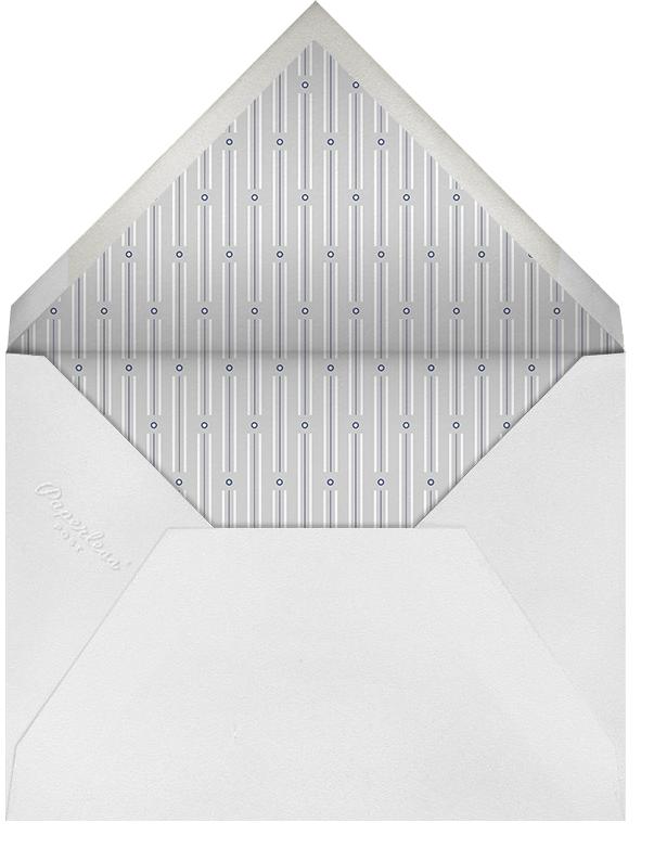 Corner Photos - Powder Blue - Paperless Post - Envelope