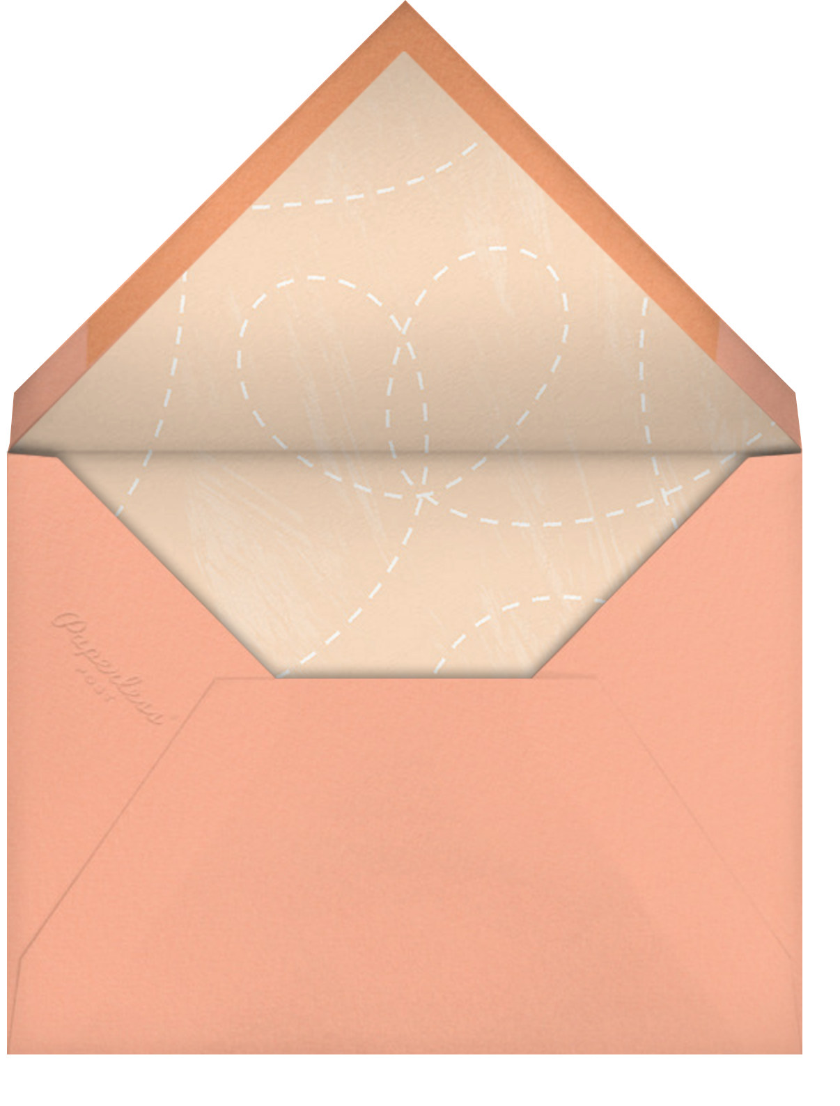 Together In Spirit - Paperless Post - Mother's Day - envelope back