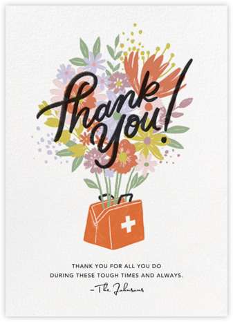 Bursting With Thanks - Paperless Post - Online Thank You Cards