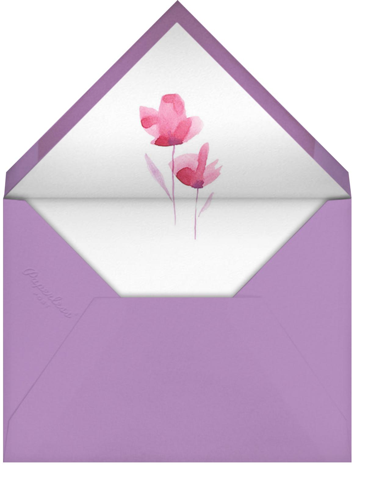 Mom's Garden - Paperless Post - Mother's Day - envelope back