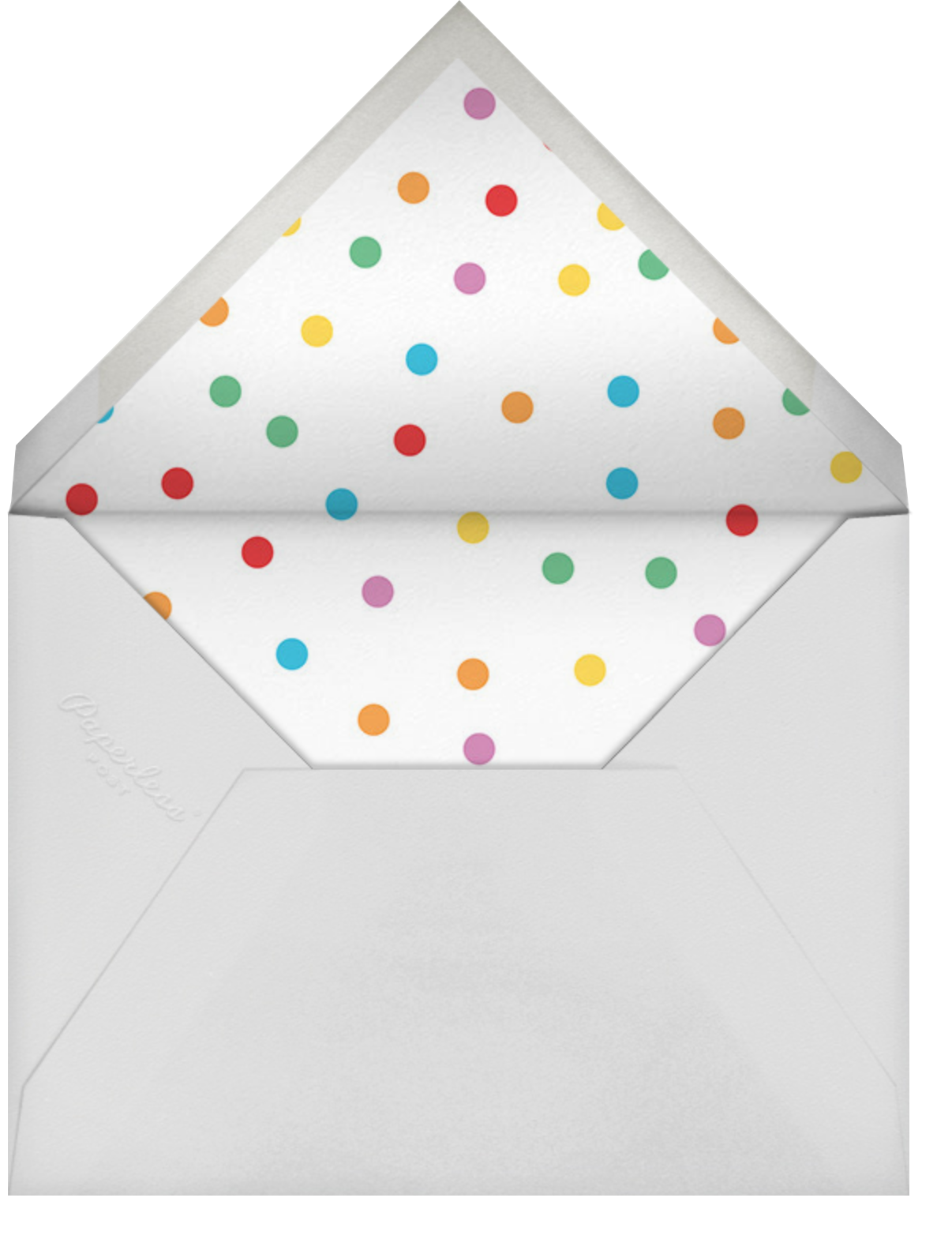 Floating Cake - Cheree Berry - Kids' birthday - envelope back