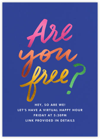 You Free? - Cheree Berry - Virtual Parties