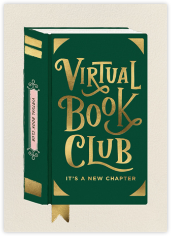 Virtual Book Club - Cheree Berry - Book club invitations