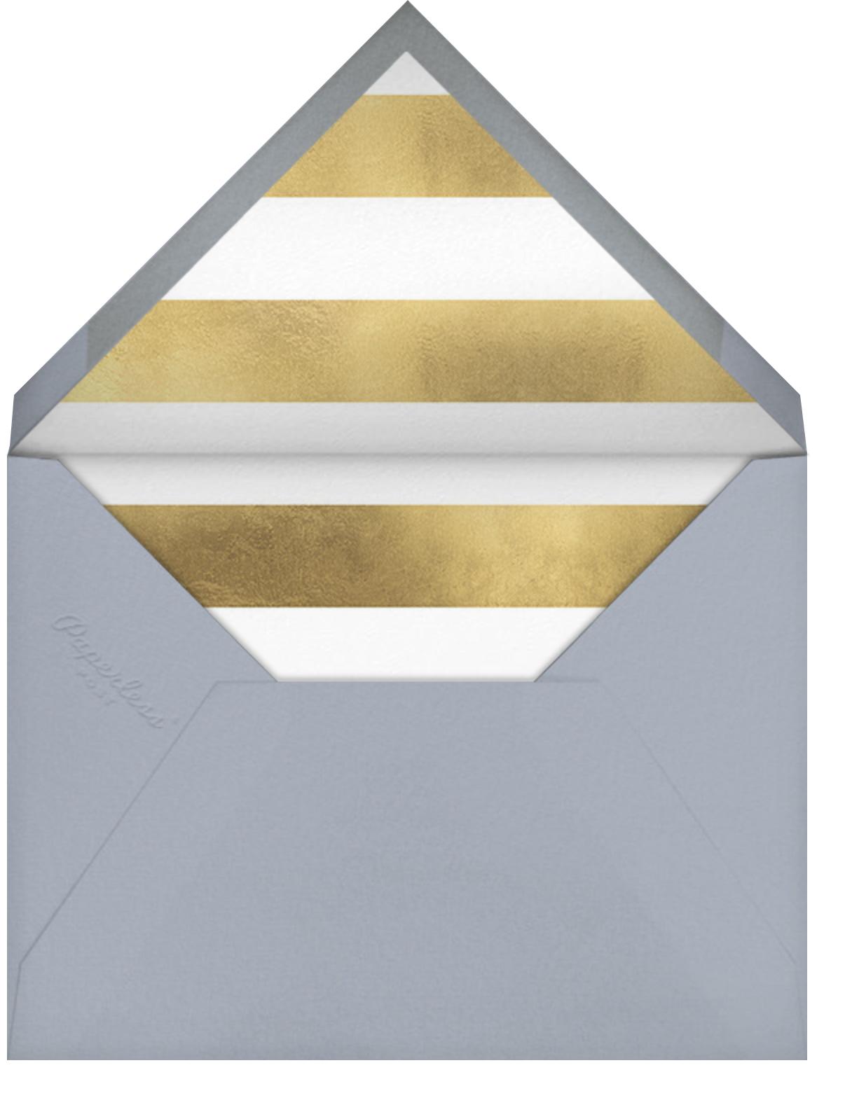 Birthday Spots - White - Sugar Paper - Adult birthday - envelope back