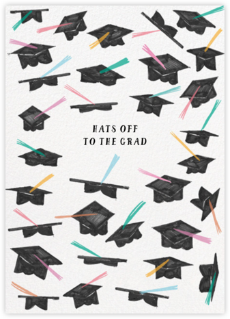 Pastel Caps - Mr. Boddington's Studio - Graduation Announcements