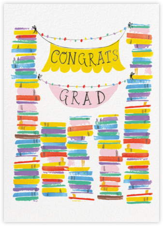 Grad Stacks - Mr. Boddington's Studio - Online Greeting Cards