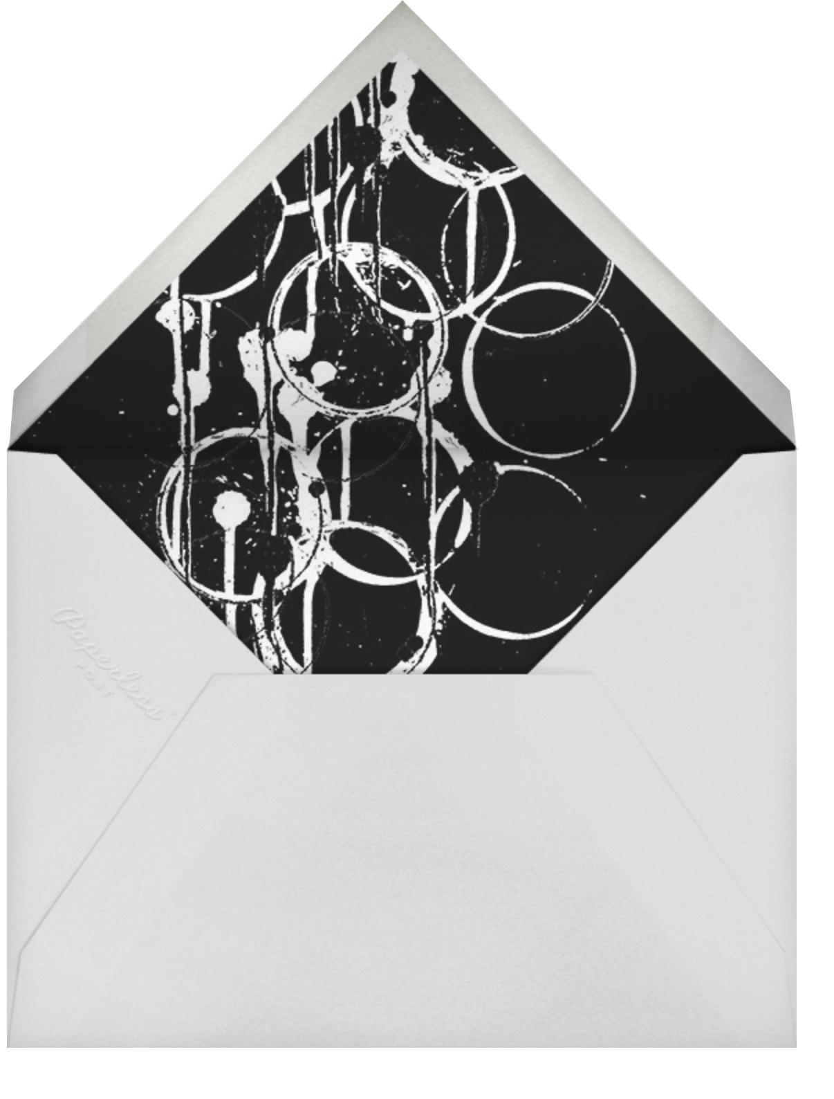 Bottle Shock - Gold - Kelly Wearstler - Professional events - envelope back