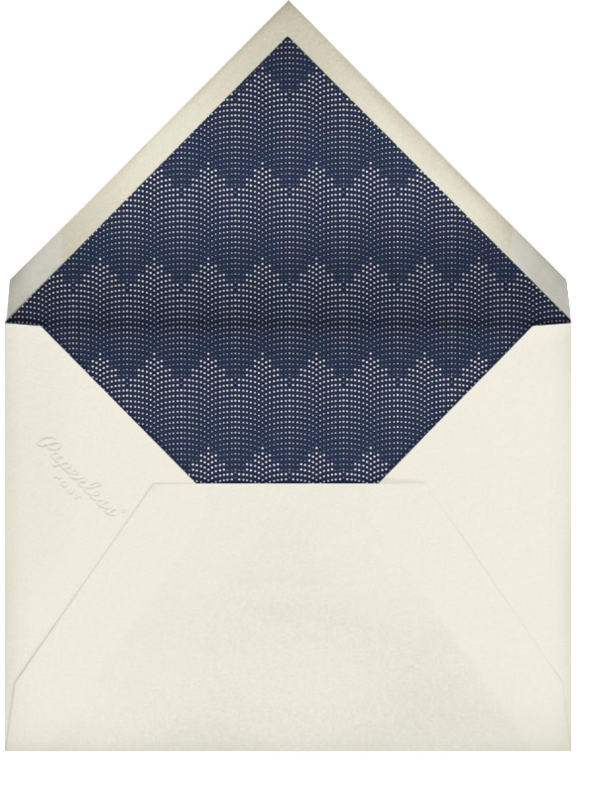 Rosina - Navy - Paperless Post - Virtual parties - envelope back