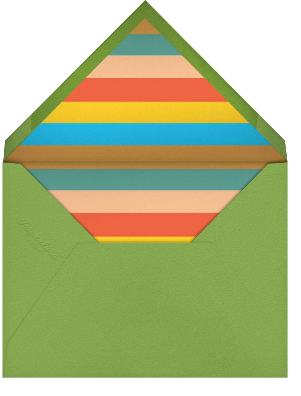 Wine Overlap - The Indigo Bunting - Happy hour - envelope back