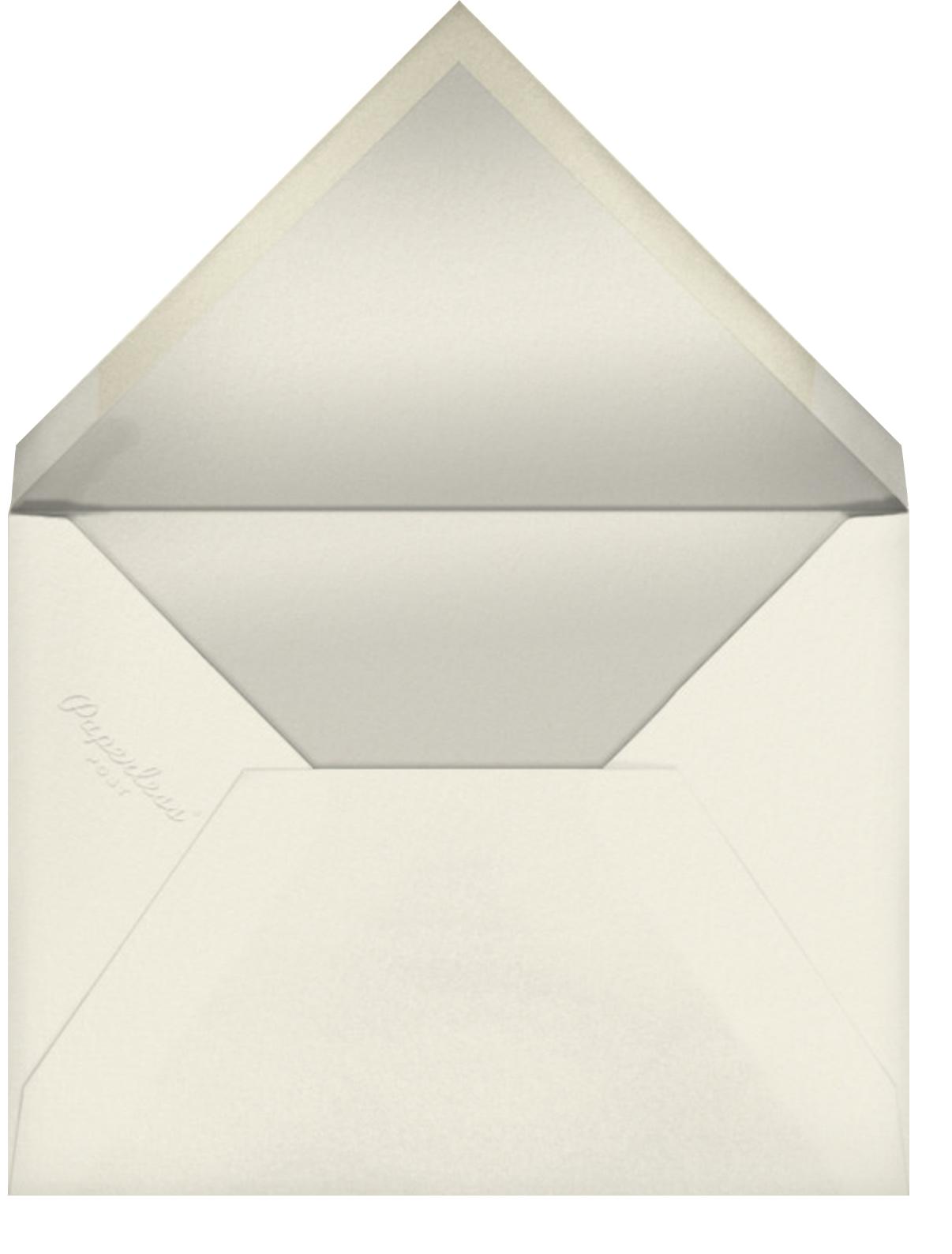 Rose (Tall) - Paperless Post - Wedding postponement - envelope back