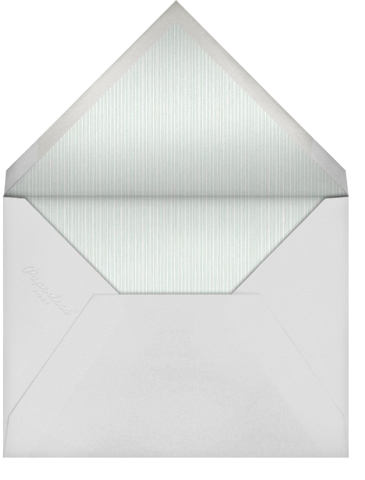 Sand - Paperless Post - Wedding postponement - envelope back
