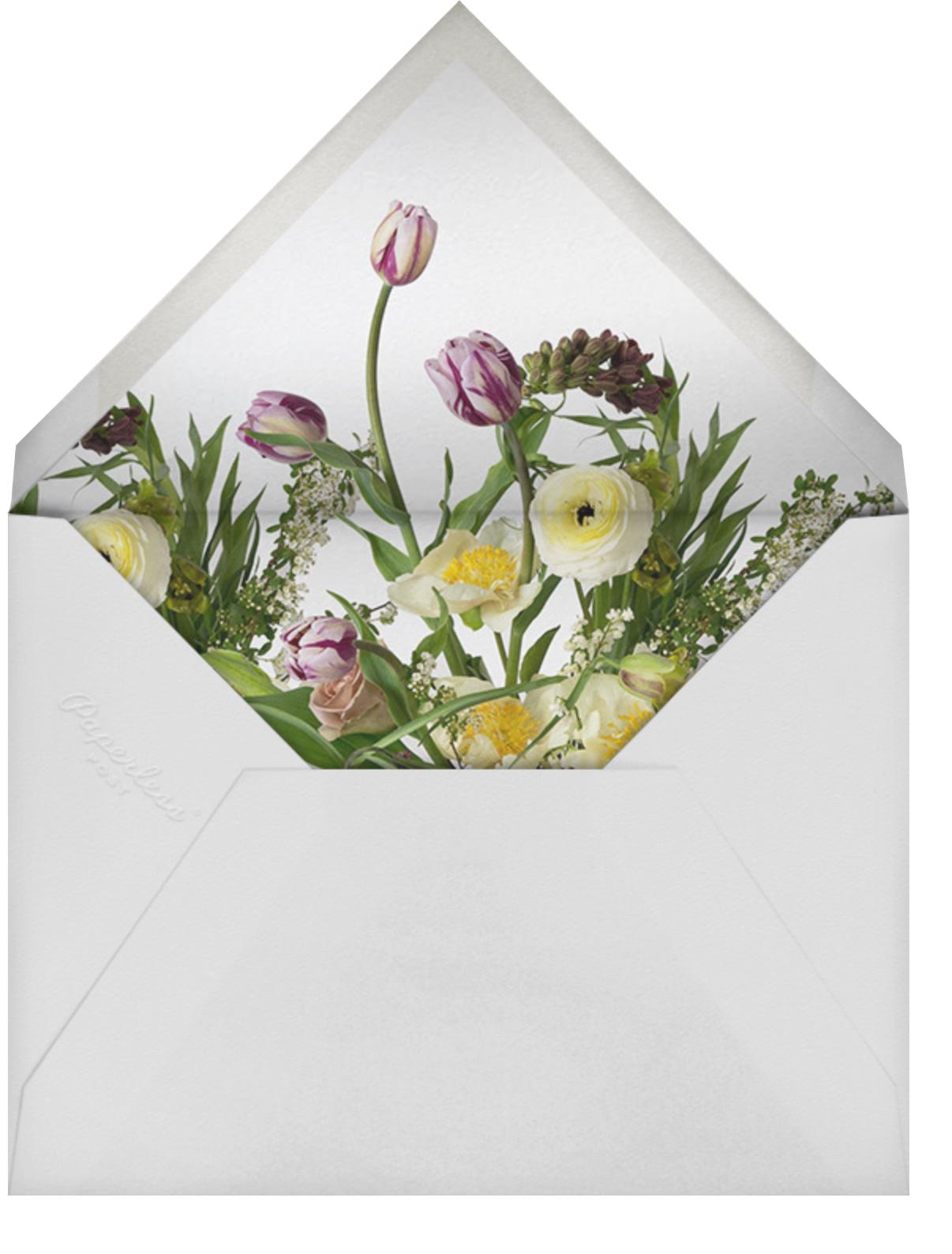Eyrignac - Putnam & Putnam - Mother's Day - envelope back