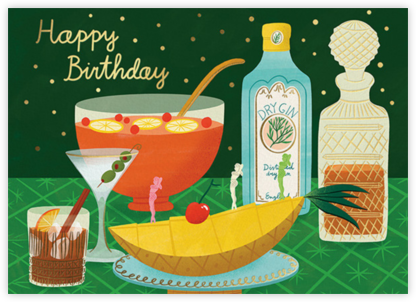 Birthday Bar - (Bodil Jane) - Red Cap Cards - Online Greeting Cards